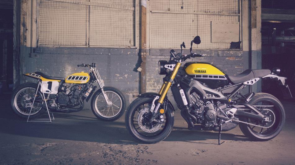 Yamaha XSR700 a XSR900 60th Anniversary v Motoshope Žubor