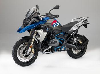 BMW R 1200 GS modra