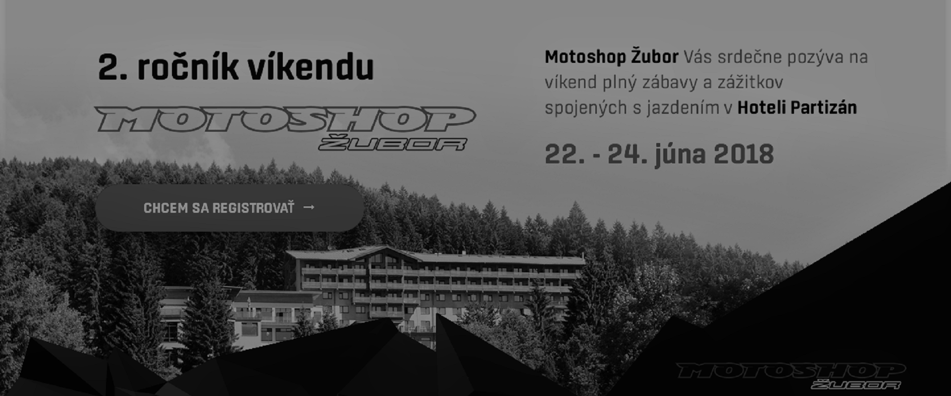 Víkend s Motoshop Žubor