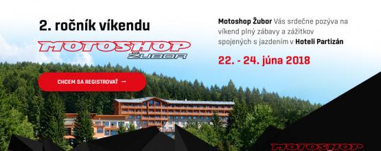 Víkend s Motoshop Žubor 2018