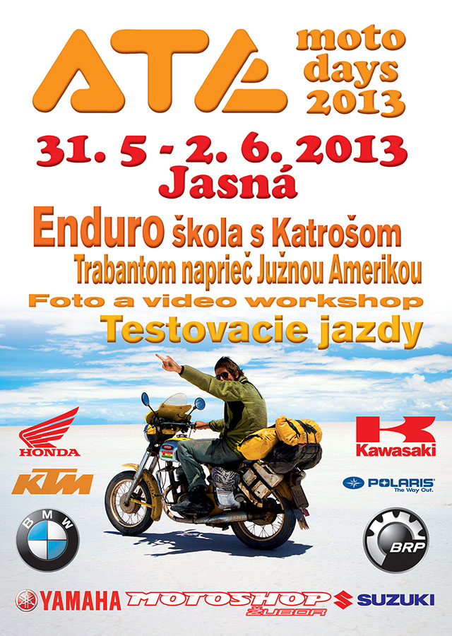 ATE moto days 2013 plagat