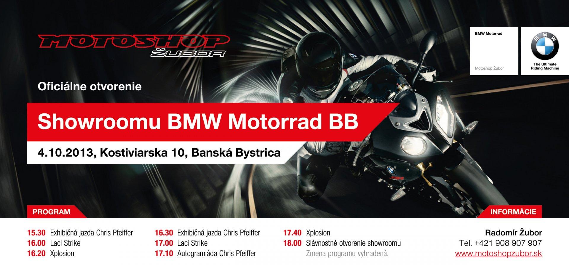 Otvorenie BMW Motorrad showroomu