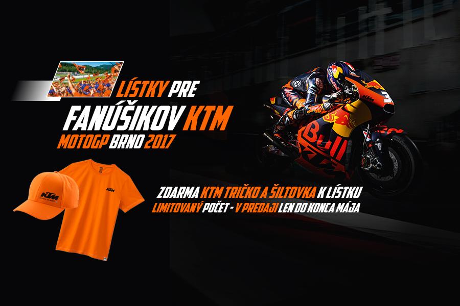 Prežite MotoGP vo farbách KTM