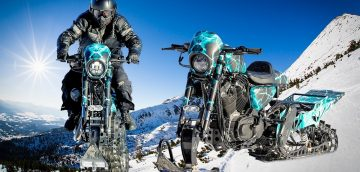 Harley-Davidson Snow Drag Anniversary