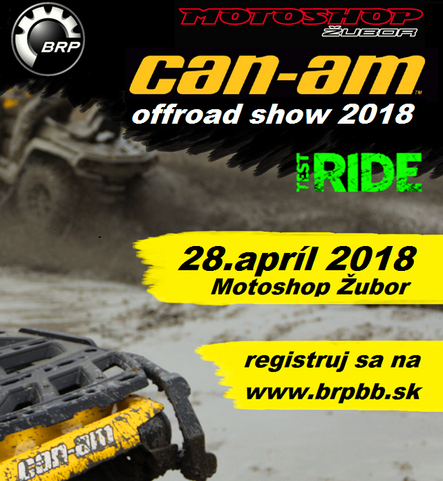 Can-am offroad show – Obsadené