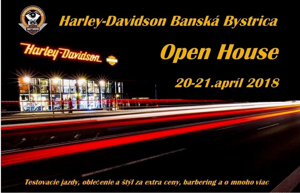 Harley-Davidson Open House.