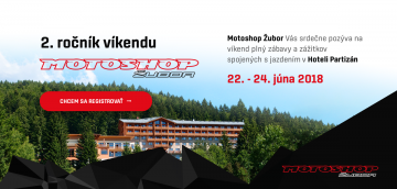 Víkend s Motoshop Žubor 2018