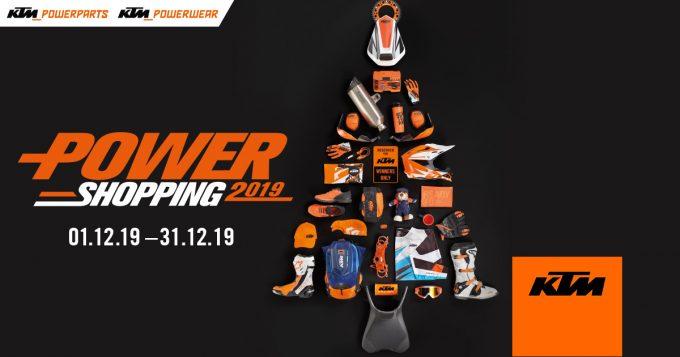 KTM Power Shopping