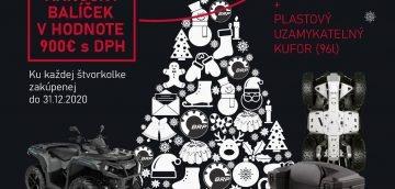 Vianočný balíček ku štvorkolke pod stromček